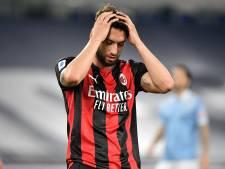 L'AC Milan et Saelemaekers battus à la Lazio