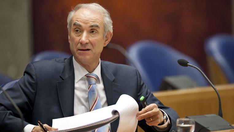 Minister voor Immigratie en Asiel Gerd Leers. Beeld ANP