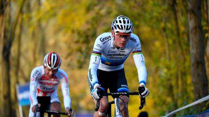 Van der Poel zegeviert in Flandriencross, ploegmakker Meeusen knap tweede