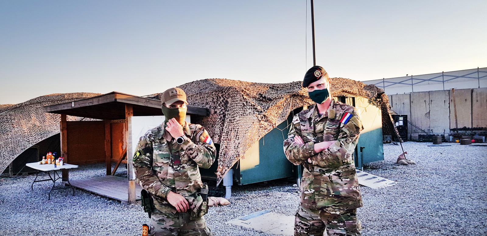 Sinds begin deze maand zitten 150 Nederlandse militairen in Erbil in Koerdisch Irak.