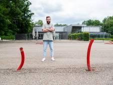 Ook Club Pellikaan in Apeldoorn gaat voor populaire sport: aanleg van drie padelbanen