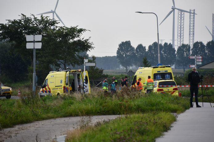 Meerdere ambulances zijn ter plekke