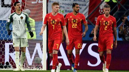 """Statistiekenwebsite plaatst liefst vier Belgen in flopelftal van halve finales: """"Niemand verloor de bal vaker dan Kevin De Bruyne"""""""