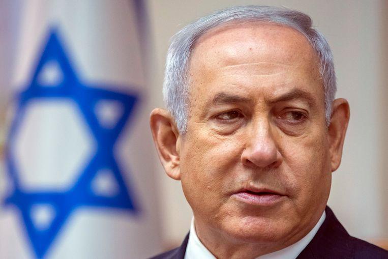 Israëlisch premier Netanyahu. Beeld AP