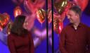 Miryanna van Reeden en haar date Enrico in First Dates Valentijns Special.