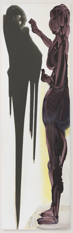 'Die drie grote schilderijen zijn vreemde dingen, mensen zullen eraan moeten wennen.' (Foto: 'The Origin of Painting', olie op canvas, 2018.) Beeld Photographer: Peter Cox / Courtesy Zeno X Gallery, Antwerp