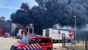 De brand in Hapert laait weer op.