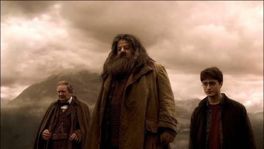 """Robbie Coltrane dans le film """"Harry Potter et le prince de sang-mêlé"""""""