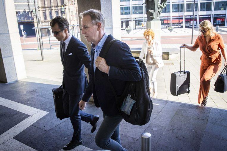 Vincent Wevers bij de rechtbank in Arnhem. Beeld EPA