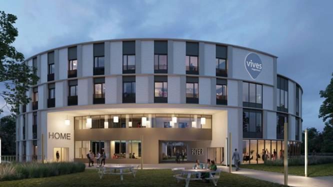 Hogeschool Vives creëert eerste 'leefcampus' van Vlaanderen, met 138 kamers en 19 leslokalen
