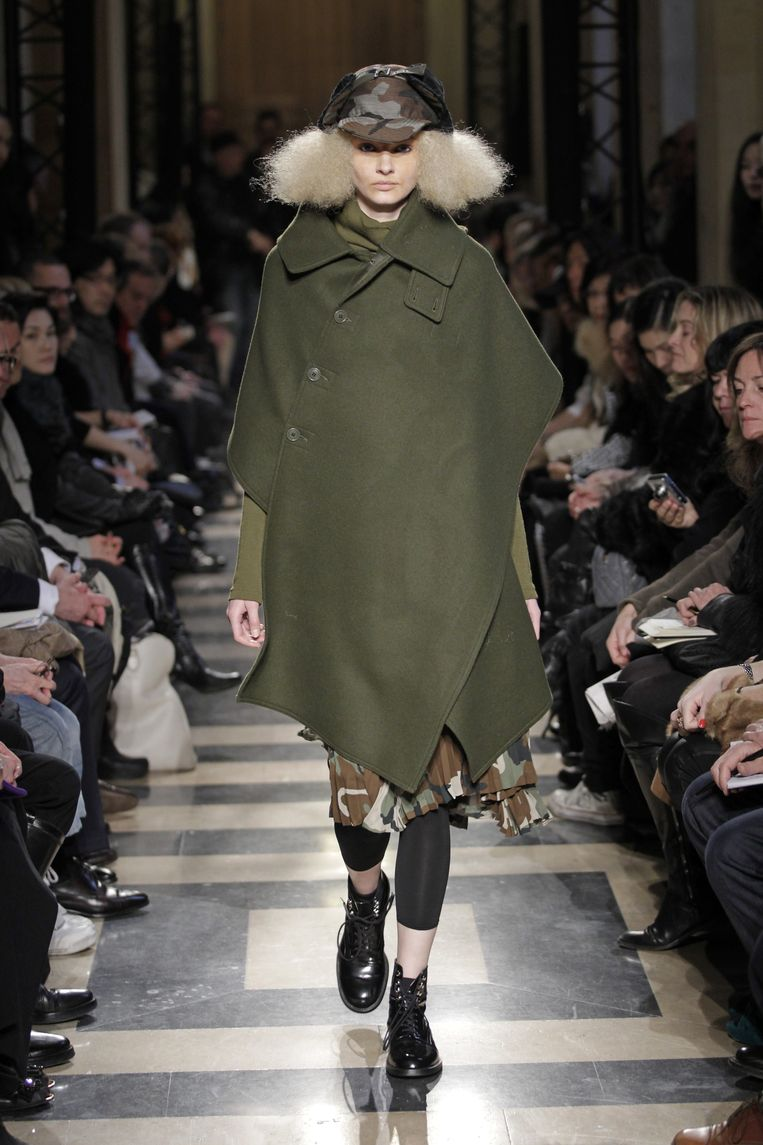 Junya Watanabe 'Haar warme dekenjas is nog steeds een geweldig ontwerp.' Beeld Peter Stigter