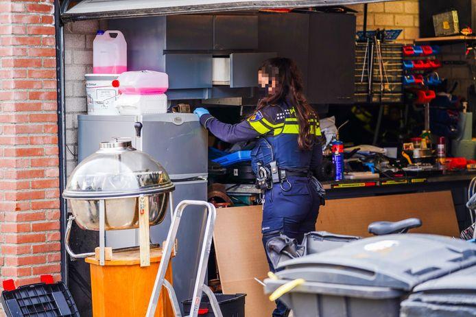 Hennepkwekerij aangetroffen in Geldrop.