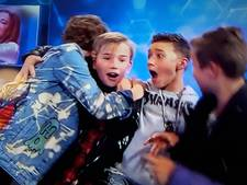 Boyband Fource wint Junior Song Festival