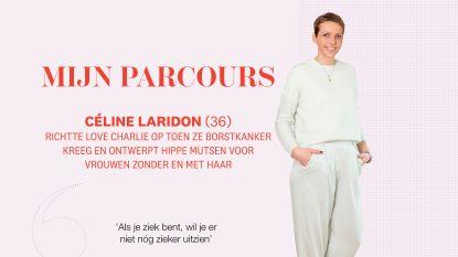 Het hobbelige pad naar succes van Céline Laridon, borstkankerpatiënte die nu mutsen ontwerpt voor vrouwen zonder en met haar