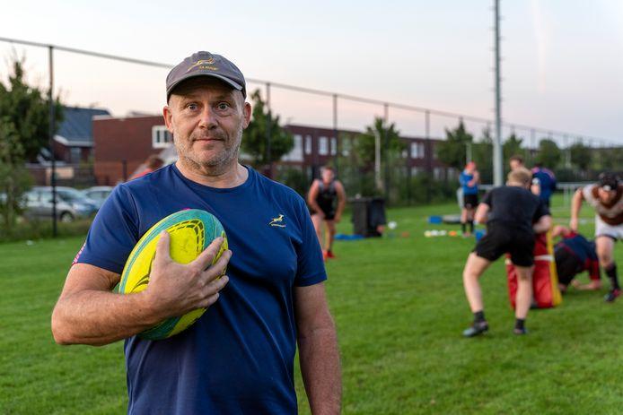 Frank Maes, hoofdtrainer van REL Etten-Leur