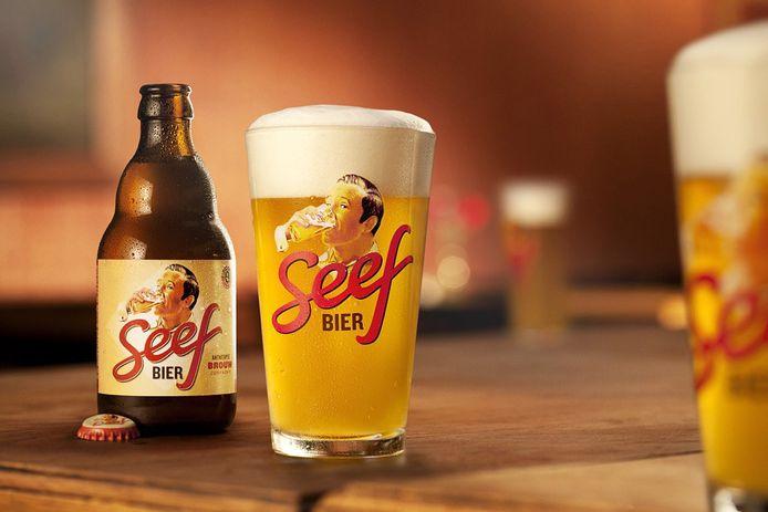 Het Seefbier, een van de bieren van de Antwerpse Brouw Compagnie.