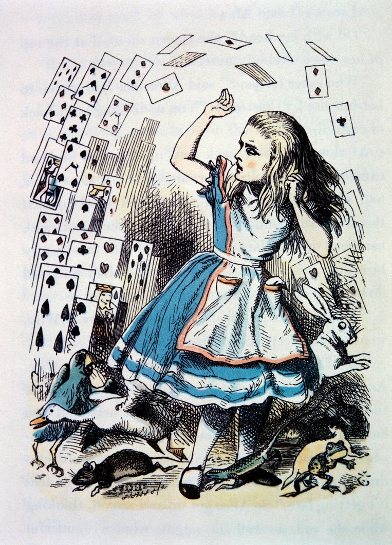 Alice in Wonderland. Beeld Getty