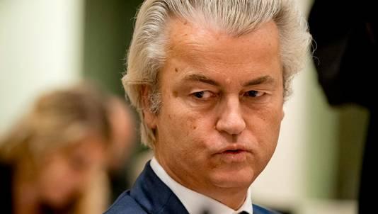 PVV-voorman Geert Wilders.