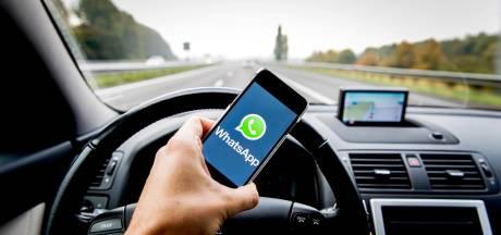 'Smartphone op zwart en verkeerspolitie terug'