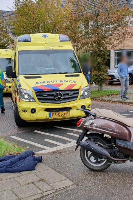 Twee gewonden bij aanrijding in Wageningen