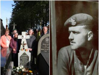 Eerbetoon aan gesneuvelde Koreavrijwilliger Marcel Caesteker. Zijn laatste rustplaats is erkend als oorlogsgraf