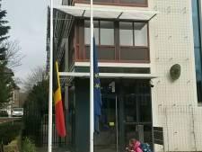 Woensdag minuut stilte bij Belgische ambassade in Den Haag
