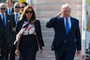 Trump en zijn vrouw brengen een driedaags bezoek aan het Verenigd Koninkrijk, maar kunnen rekenen op protest.