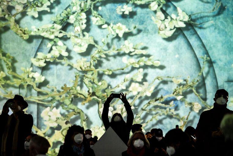 'Van Gogh - The Immersive Experience'. Beeld EPA