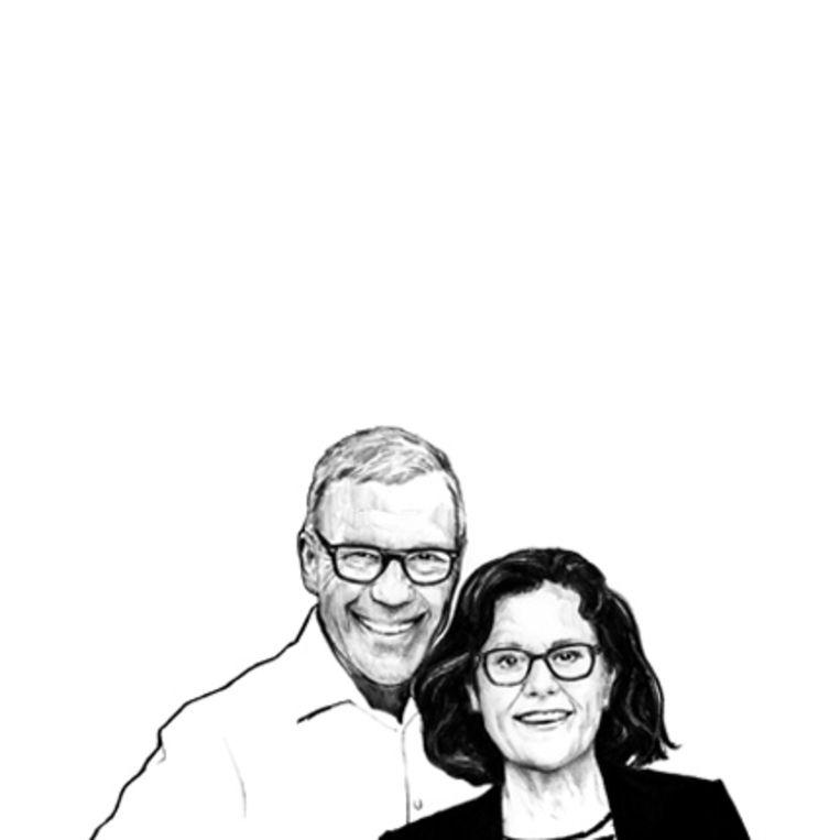 Meneer en mevrouw Hamersma. Beeld Sjoukje Bierma
