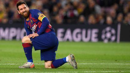 Nieuwe domper voor Barcelona: Messi en co geraken in eigen huis niet voorbij Slavia Praag