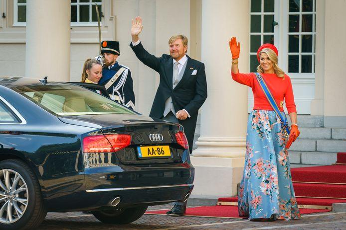 Koning Willem Alexander en Koningin Máxima.