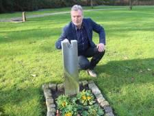 Crematoriumdirecteur Gert Brinkhorst over diefstal bronzen beeldje: 'Zo'n daad maakt de pijn nóg groter'