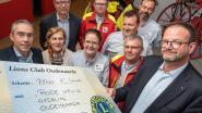 Rode Kruis dankzij 7.500 euro steun van Lions Club Oudenaarde weer stap dichter bij aankoop nieuwe ziekenwagen