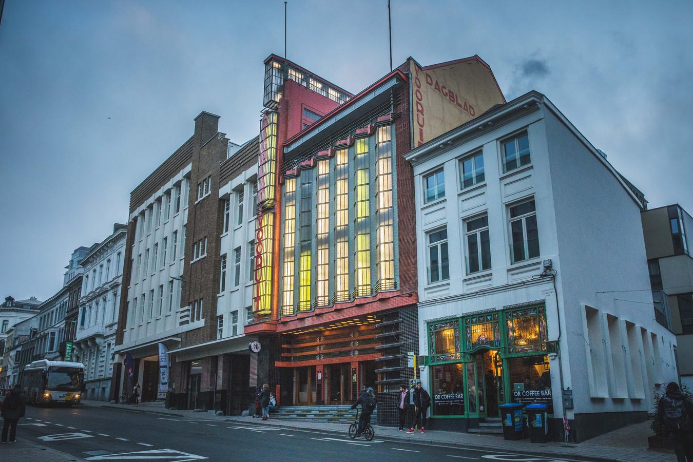 Het redactiekantoor en de drukkerij van Dagblad Vooruit werd op 10 januari 1931 officieel ingehuldigd.