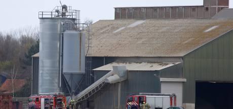 Groot alarm voor brand bij Linex in Koewacht