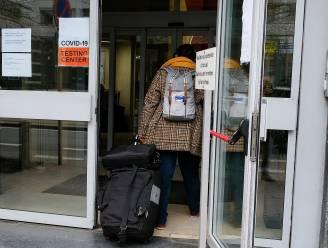 Bijna vijf procent reizigers test positief bij terugkeer in Brussel