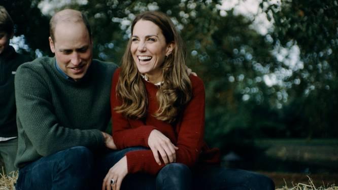 William en Catherine bedanken voor felicitaties met familievideo