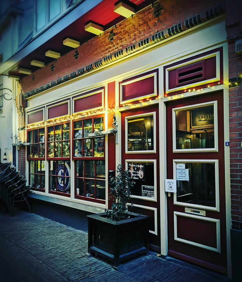 Café Brutus in de Krankeledenstraat in Amersfoort.