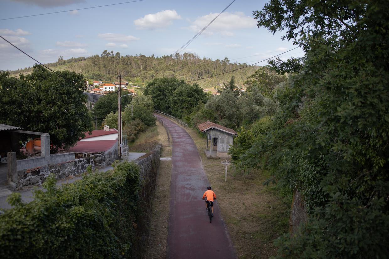 Viseu heeft bijna 100.000 inwoners en een universiteit, maar geen treinstation. Beeld Gonçalo Fonseca