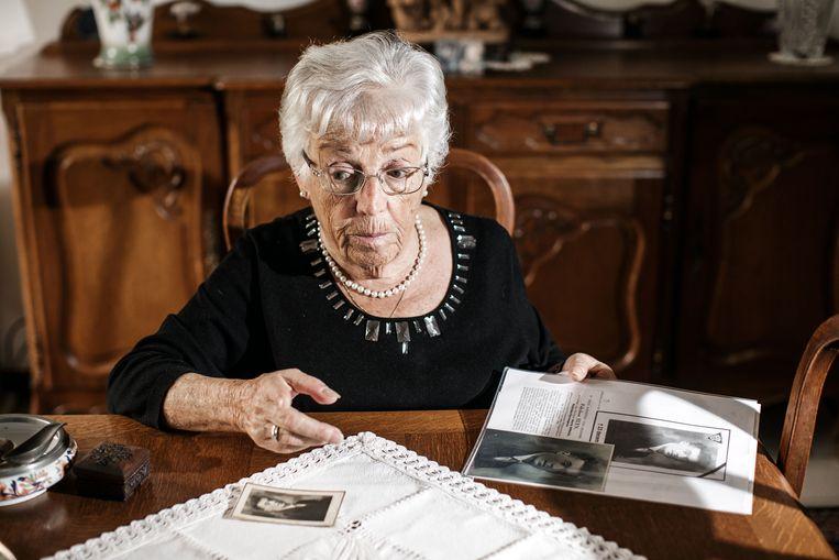 Yvette Elyn: 'Toen de man die mijn vader had opgepakt na de oorlog werd gefusilleerd, stond mijn moeder op de eerste rij.' Beeld Bob Van Mol