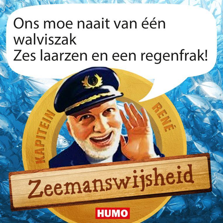 zeemanswijsheid Beeld Humo