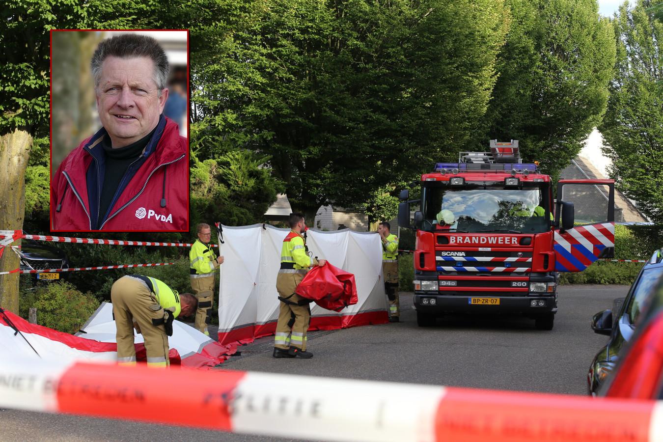 Jack de Vlieger, de fractievoorzitter van de lokale PvdA-fractie, werd zaterdagavond dood in zijn huis gevonden.
