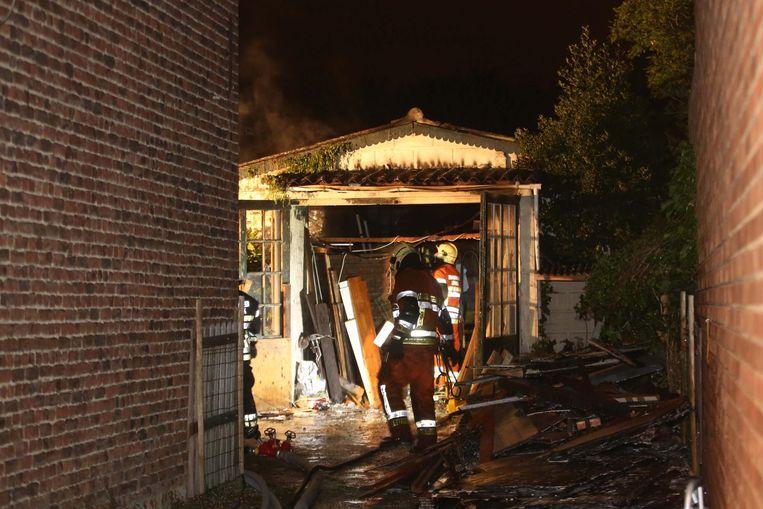 In mei brandde brandde achter een woning in de Schaliestraat een caravan uit.