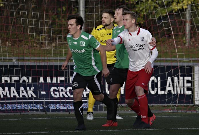 DOVO speelde vorige week met 2-2 gelijk tegen Barendrecht.