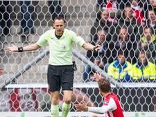 Heracles Almelo - PSV zondag onder leiding van Ed Janssen