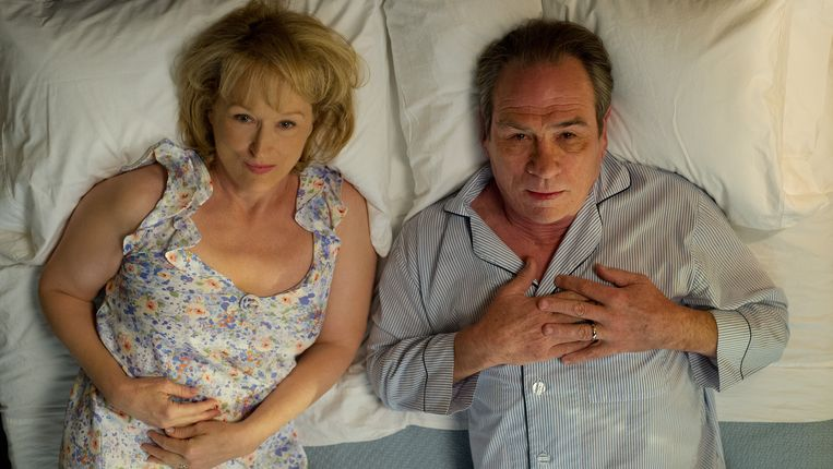Meryl Streep en Tommy Lee Jones in Hope Springs van David Frankel Beeld