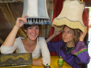 Hanne en Charlotte hebben ideeën zat voor hun kinderfeestjes.