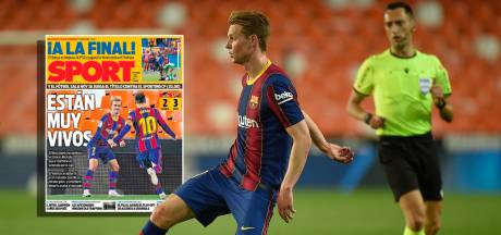 Spaanse media loven 'onvervangbare Frenkie de Jong' na comeback FC Barcelona