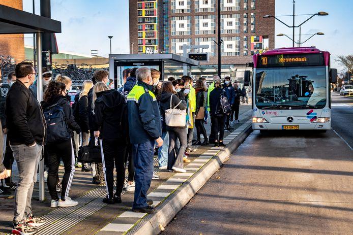 Openbaar vervoer in Nijmegen in coronatijd.