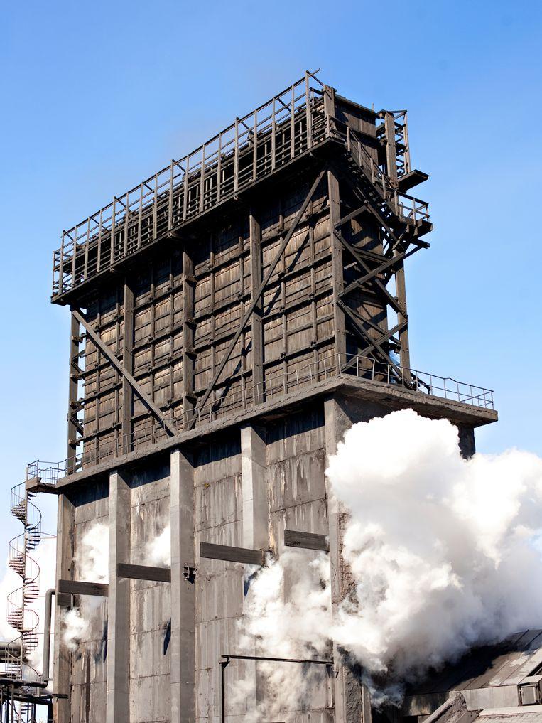 Kolen worden in Zweden omgezet in gas en cokes. Met de cokes wordt ijzer uit ijzererts gewonnen. Beeld